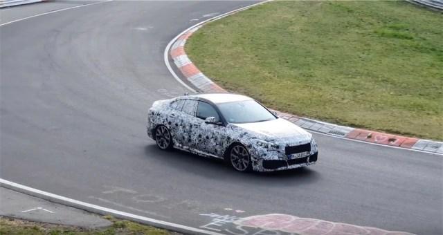 BMW Nurbugring testing.