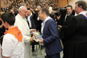 Николай Кобзов и Папа Римский 2