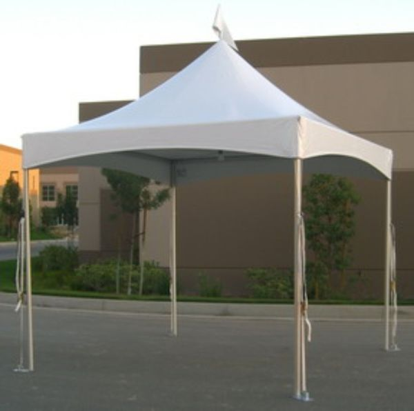 10x10 High Peak Tent - Party And Wedding Rentals Denton North Texas 5 Star Rental