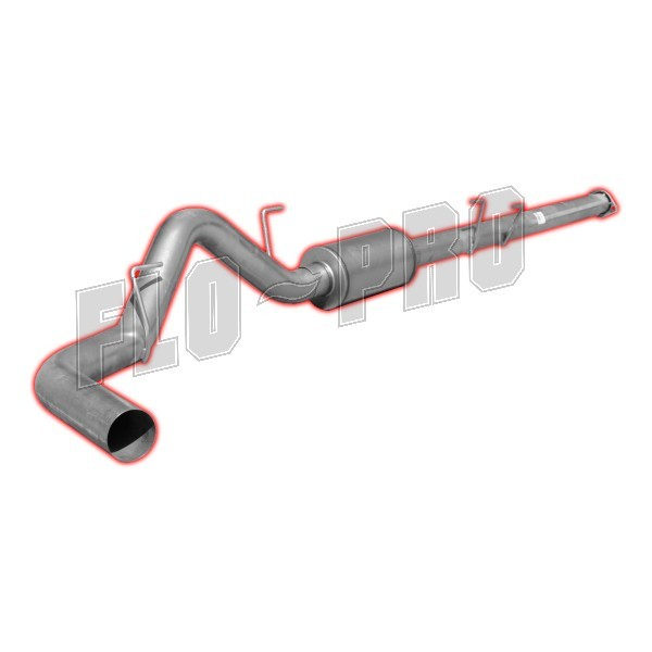 2011 2014 f150 3 5l ecoboost flo pro 4 stainless steel cat back exhaust ss865
