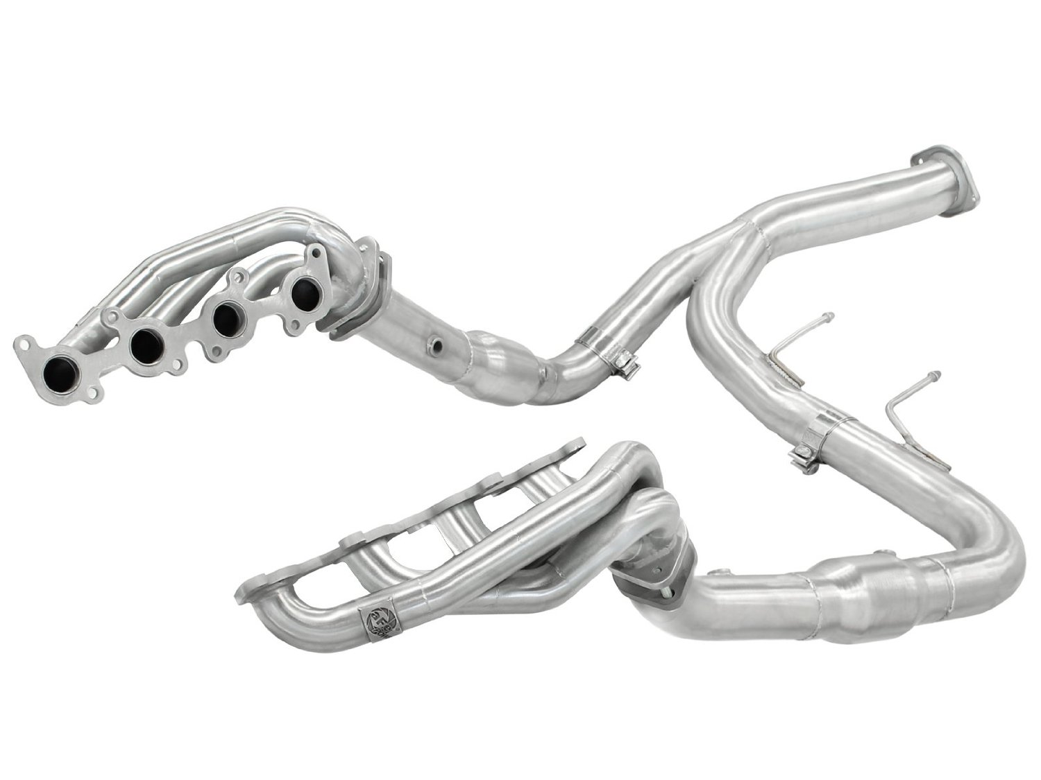 F150 5 0l Afe Catted Performance Headers Stainless 45 48 48
