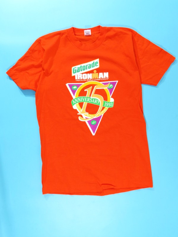 1993 Gatorade Ironman Triathlon Crew T-shirt - 5 Star Vintage