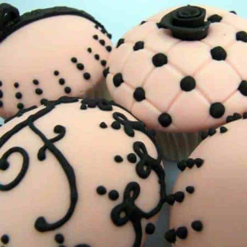 The Lace Collection Cupcakes