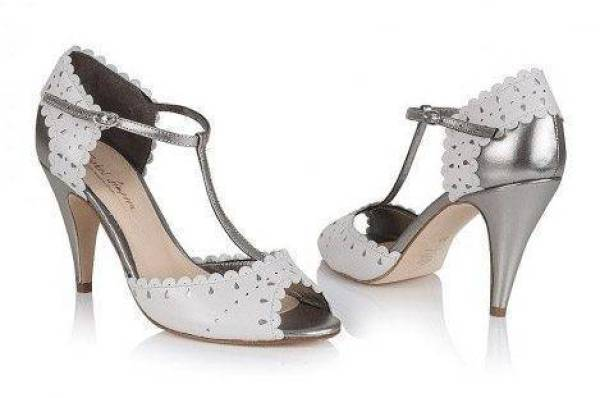 Bespoke Wedding Shoes By Rachel Simpson