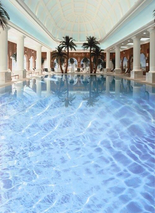 Roman Pool Blue Water