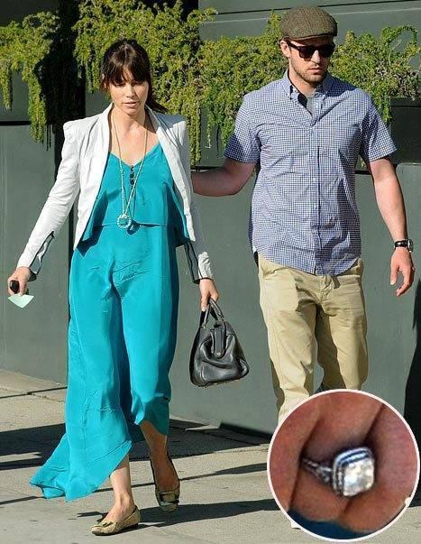 Jessica Biel and Justin Timberlake Engaged