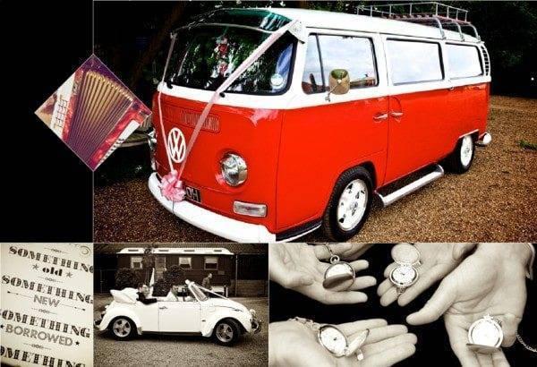 Vintage Weddings the camper van