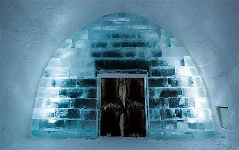 The Snow Hotel