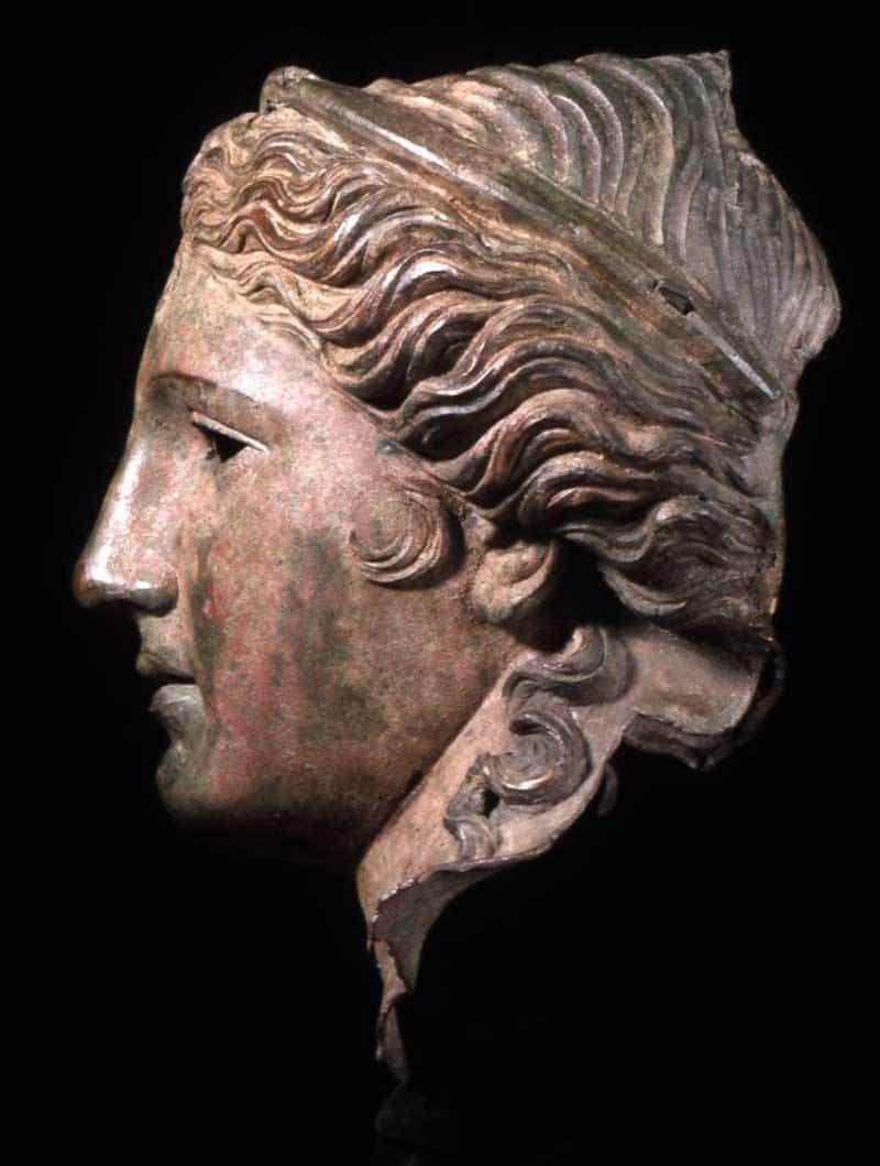 Bronze Head of Aphrodite