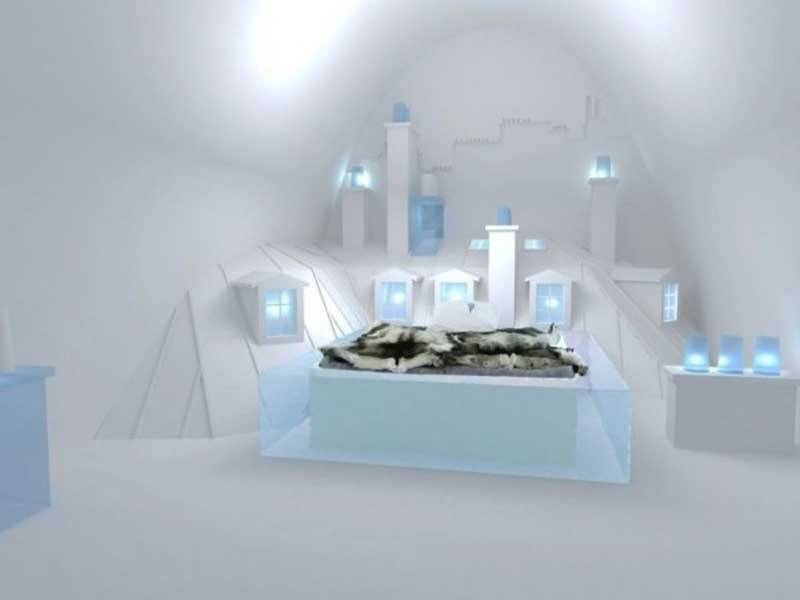 Honeymoon Ice hotel