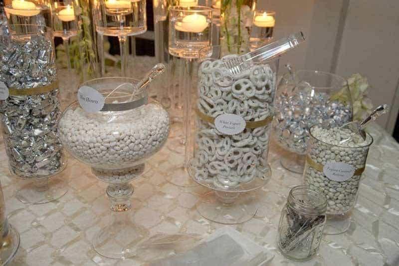 Luxury Wedding Candy Buffet