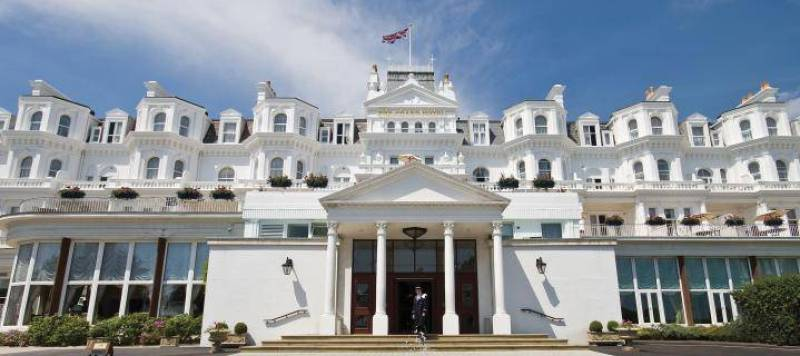 The 5 Star Grand Hotel in Eastbourne, East Sussex