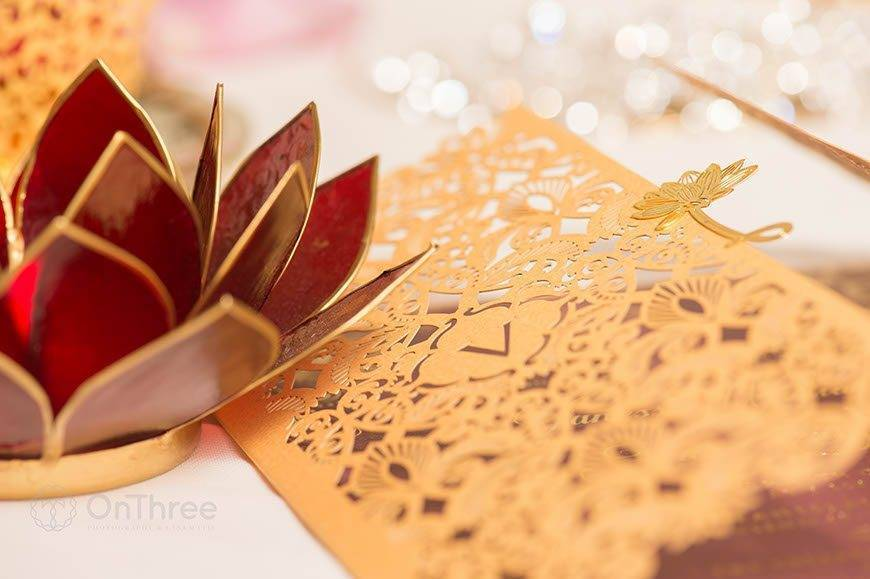 Vanessa Williams Wedding Invitations