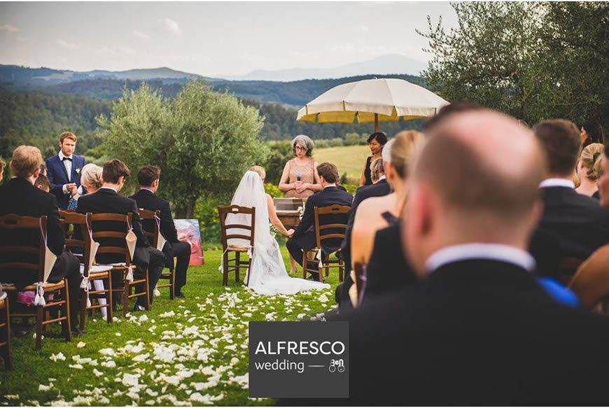 A Wedding Ceremony in Tuscany