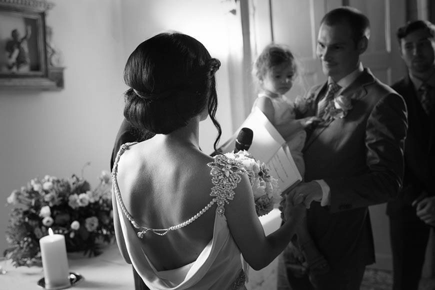 Bride and Groom Ceremony Venice