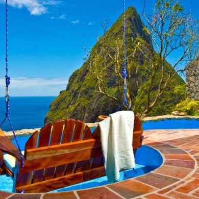 Some Of The World's Best Poolside Views