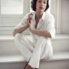 Milla Jovovich is NET-A-PORTER.COM's Latest Cover Star
