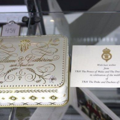 Slice Of Royal Wedding Cake Goes To Auction
