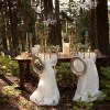 A Fairytale Wedding Style Shoot Set In A Forrest