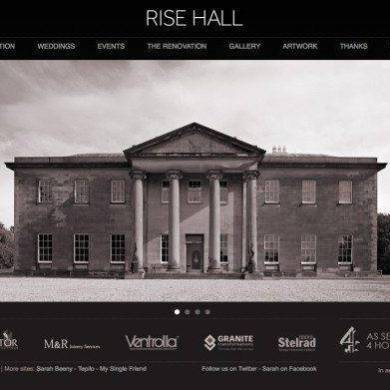 Sarah Beeny's Stunning Wedding Venue – Rise Hall