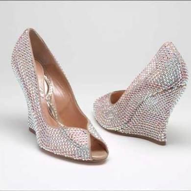 The Most Sparkly Bridal Shoes Ever 1