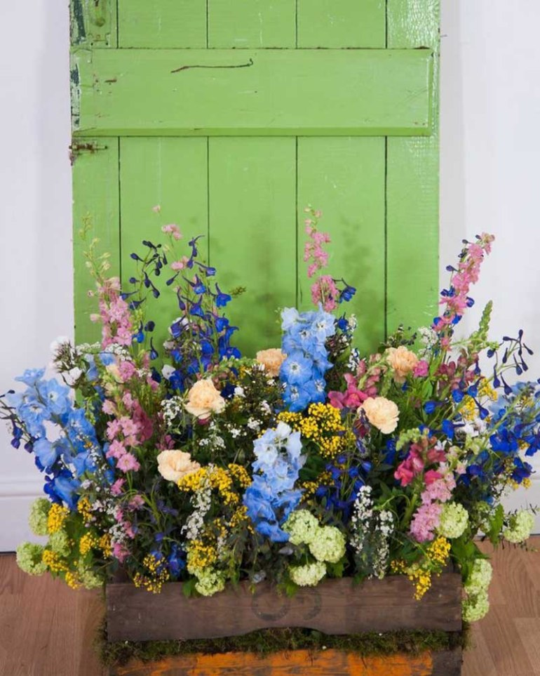 Summer Is All Tied Up With British Flowers