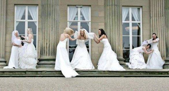 Bride wins dream £30,000 wedding