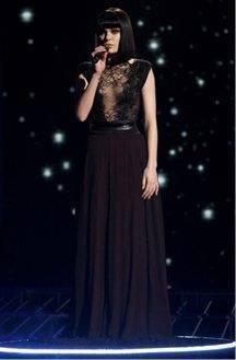 Jessie J Wears A Wedding Designer Dress