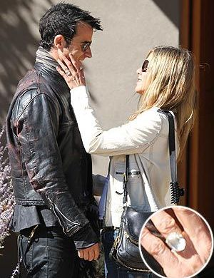 Jennifer Aniston's Engagement Ring 1