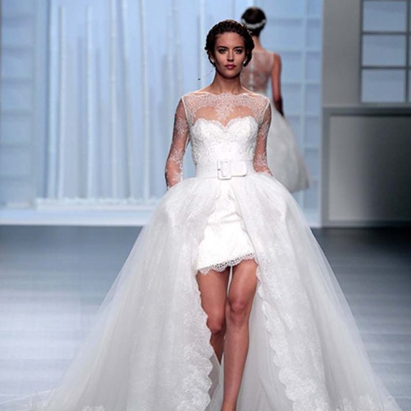 5 Inspirational Designers At Barcelona Bridal Week 2015