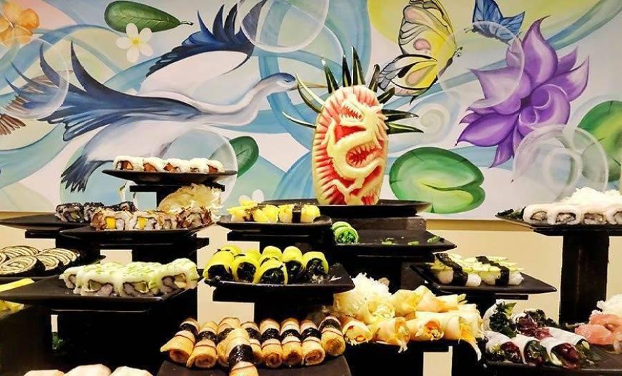 Colourful Sushi Nights At Dhonveli
