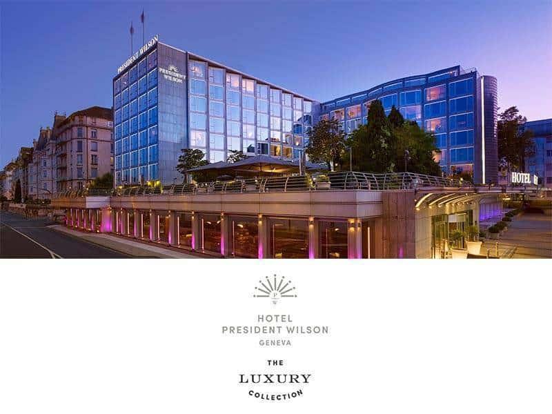 Hotel President Wilson, Geneva