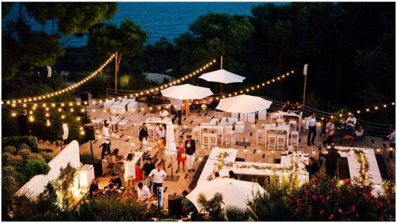 A magical pre wedding party