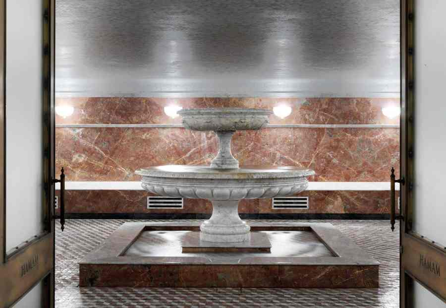 Review: The Ned - The Ned offers a traditional Hamam