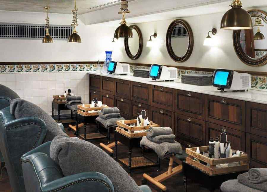 Review: The Ned - Cowshed - your one-stop-shop - from facials to pedicures