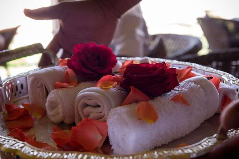 Le Palais Paysan - cold rose scented towels: @lovexposedphotography.com