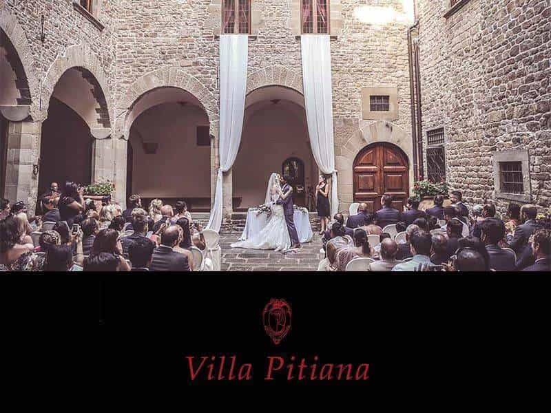 Villa Pitiana – Tuscan Wedding Venue