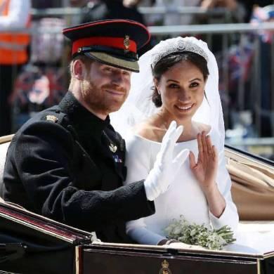 Harry & Meghan's Royal Wedding Timeline + Order of Service