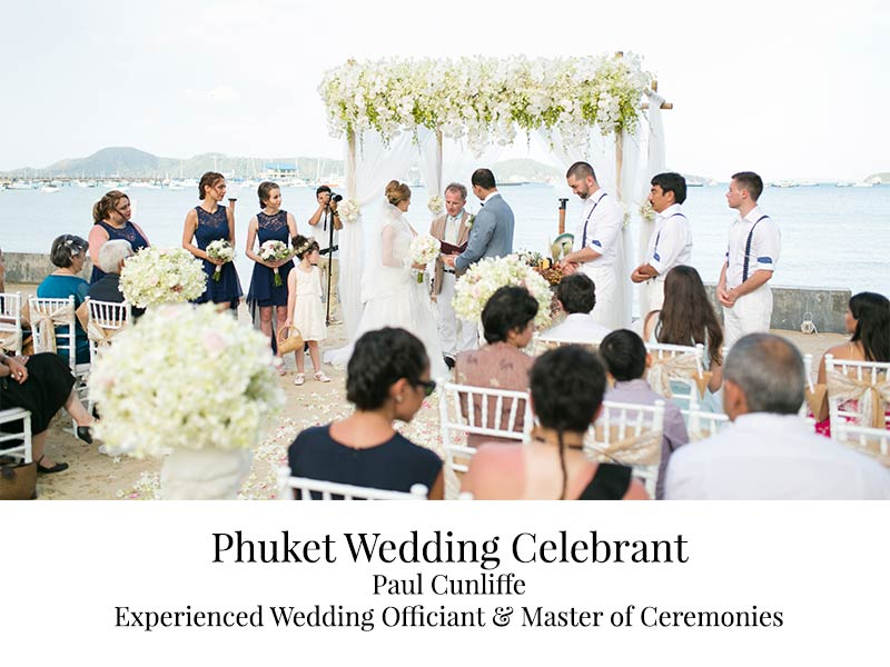 Paul Cunliffe – Wedding Celebrant Phuket