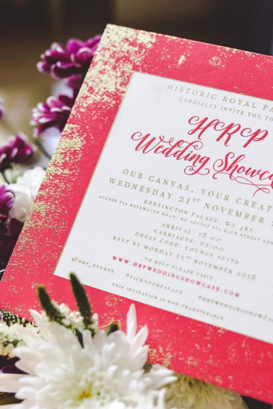 A wedding showcase at Kensington Palace