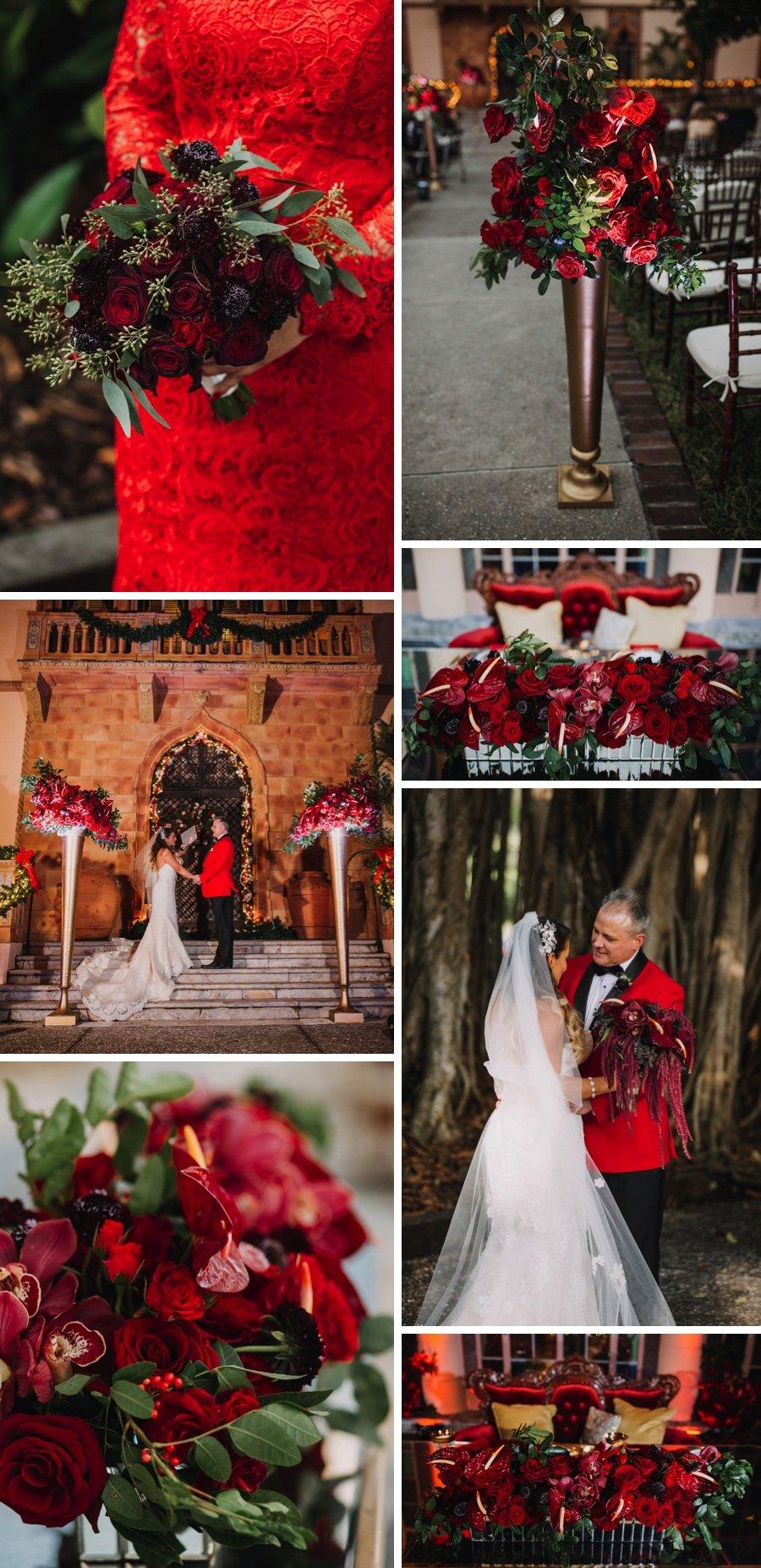 Real wedding: Blue seas and Christmas trees