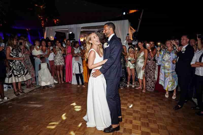 Real wedding: Rio Ferdinand & Kate Wright