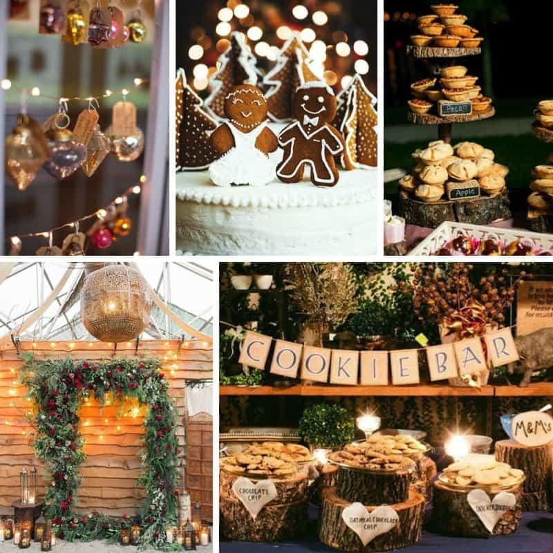 Theme: Christmas weddings