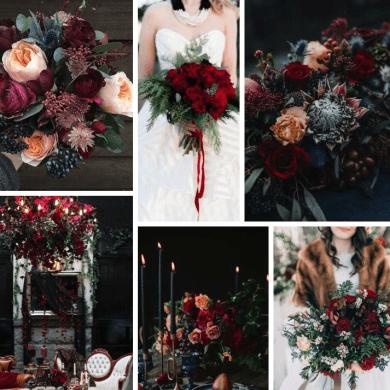 Great Winter Wedding Flowers Ideas