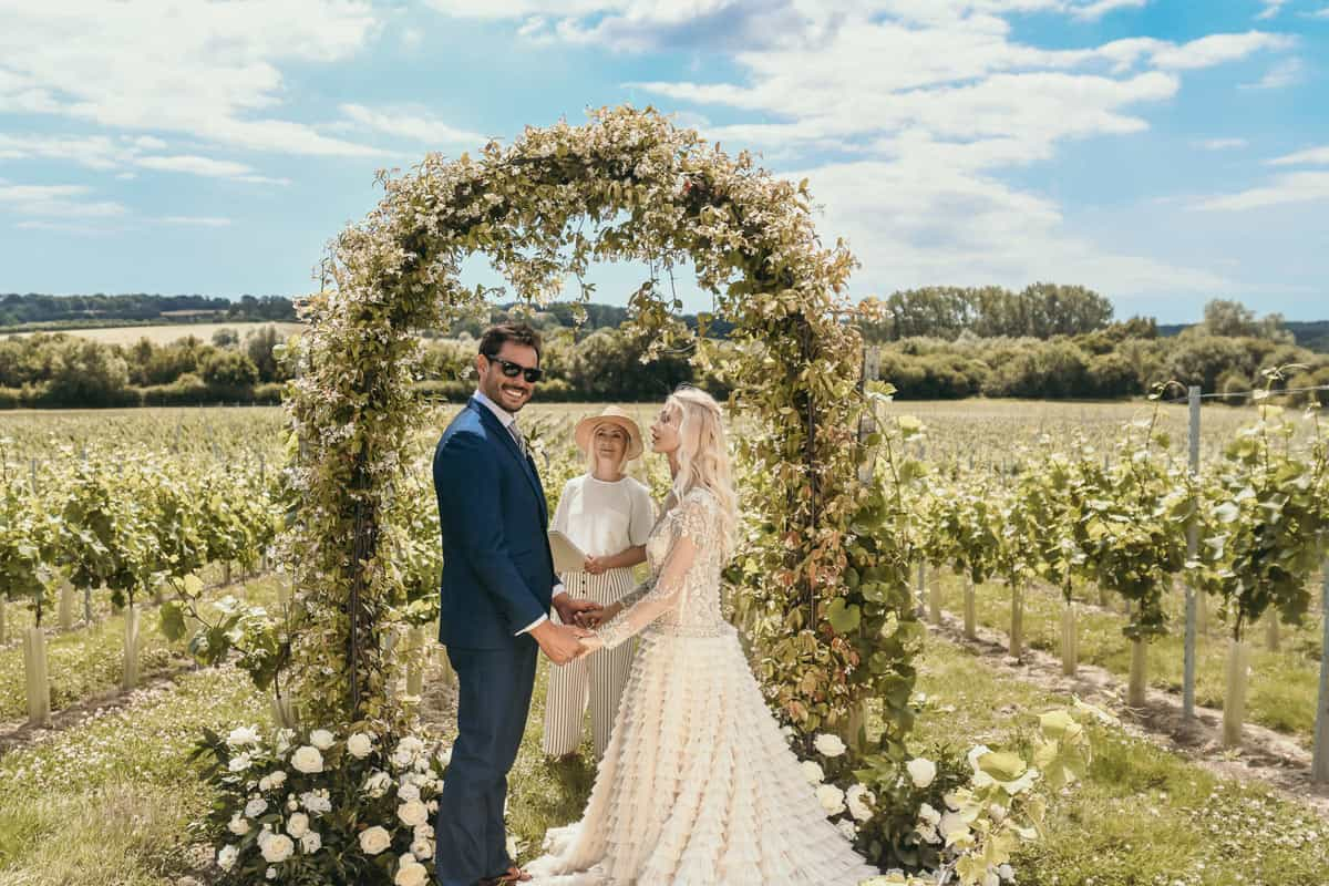 How To Style A Vineyard Wedding
