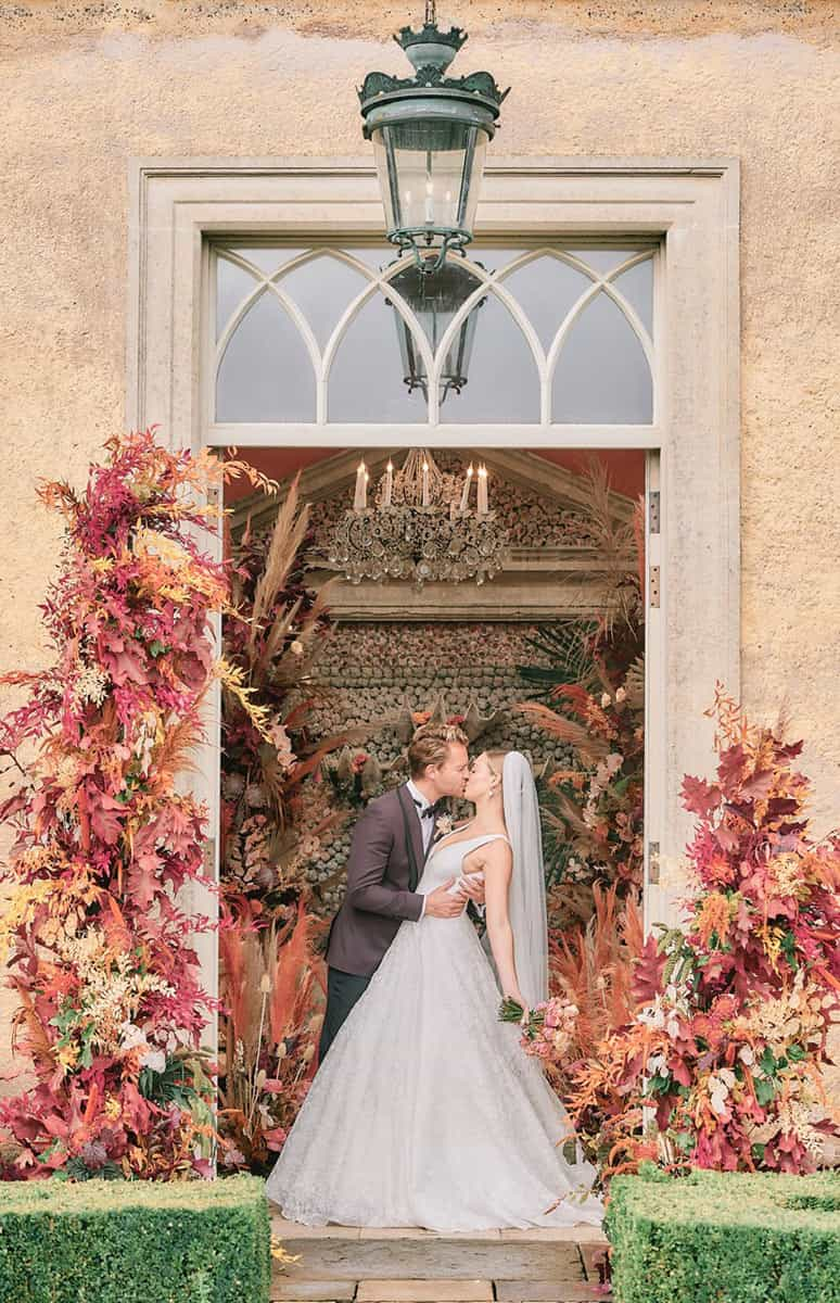 Intimate Autumnal Wedding Inspiration Set In An Orangery