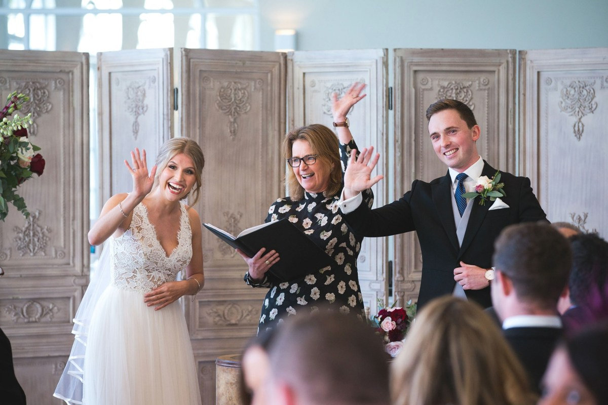 How a wedding celebrant can give you a 5 Star wedding