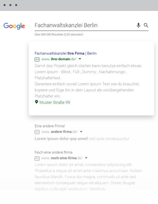 5Stella.de Google Adwords