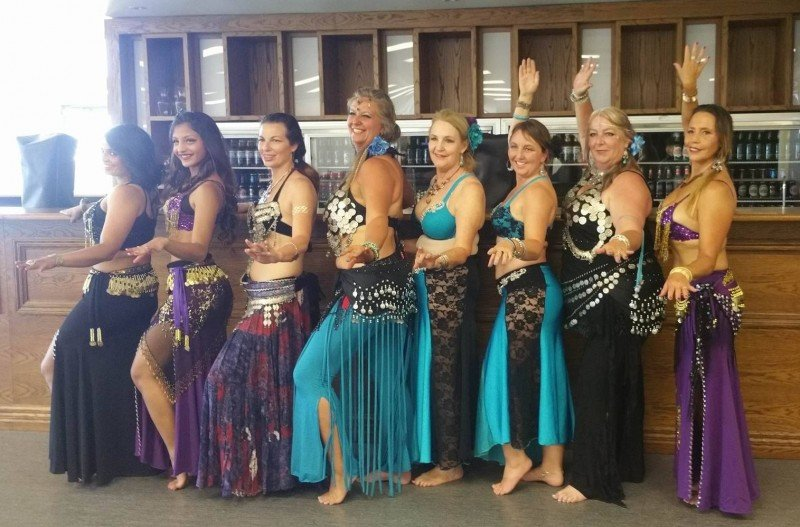 Cultural diversity celebrated at Multi Ethnic Extravaganza 2016 with Fifth Element Bellydancers