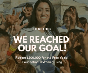 Free Yezidi Goal Complete